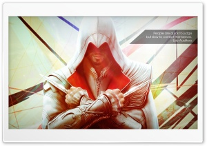 Ezio - Assassins Creed HD Wide Wallpaper for Widescreen