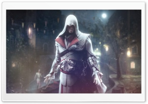 Ezio Auditore Enhanced Wallpaper III HD Wide Wallpaper for 4K UHD Widescreen desktop & smartphone