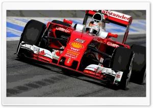 F1 Ferrari Vettel Poster Ultra HD Wallpaper for 4K UHD Widescreen desktop, tablet & smartphone