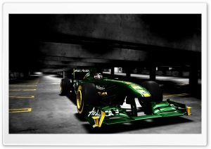 F1 Lotus Car Ultra HD Wallpaper for 4K UHD Widescreen desktop, tablet & smartphone