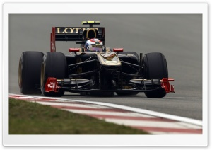 F1 Lotus Car HD Wide Wallpaper for Widescreen