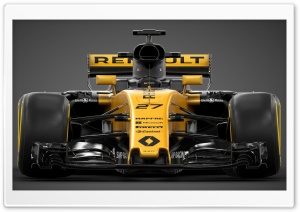 F1 Renault RS17 2017 HD Wide Wallpaper for 4K UHD Widescreen desktop & smartphone