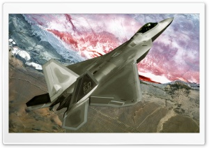 F22 Raptor HD Wide Wallpaper for Widescreen