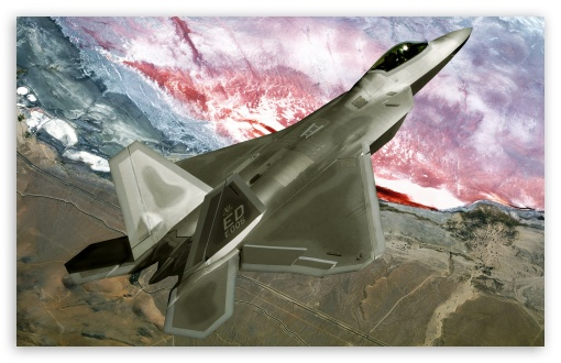 F22 Raptor HD wallpaper for Wide 16:10 5:3 Widescreen WHXGA WQXGA WUXGA WXGA WGA ; Standard 4:3 3:2 Fullscreen UXGA XGA SVGA DVGA HVGA HQVGA devices ( Apple PowerBook G4 iPhone 4 3G 3GS iPod Touch ) ; iPad 1/2/Mini ; Mobile 4:3 5:3 3:2 - UXGA XGA SVGA WGA DVGA HVGA HQVGA devices ( Apple PowerBook G4 iPhone 4 3G 3GS iPod Touch ) ;