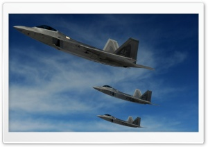 F22 Raptor Ultra HD Wallpaper for 4K UHD Widescreen desktop, tablet & smartphone