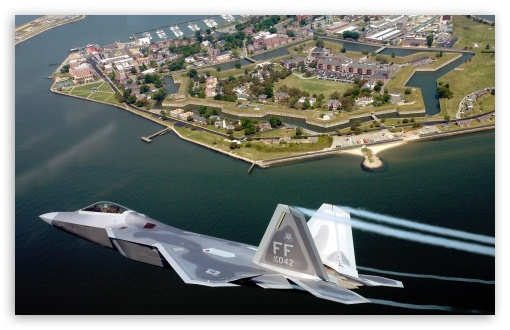 F22A Raptor Flying Over Virginia HD wallpaper for Wide 16:10 5:3 Widescreen WHXGA WQXGA WUXGA WXGA WGA ; HD 16:9 High Definition WQHD QWXGA 1080p 900p 720p QHD nHD ; Standard 4:3 5:4 3:2 Fullscreen UXGA XGA SVGA QSXGA SXGA DVGA HVGA HQVGA devices ( Apple PowerBook G4 iPhone 4 3G 3GS iPod Touch ) ; iPad 1/2/Mini ; Mobile 4:3 5:3 3:2 16:9 5:4 - UXGA XGA SVGA WGA DVGA HVGA HQVGA devices ( Apple PowerBook G4 iPhone 4 3G 3GS iPod Touch ) WQHD QWXGA 1080p 900p 720p QHD nHD QSXGA SXGA ;