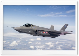 F35 Stealth HD Wide Wallpaper for Widescreen