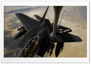 F-15E Aircraft US Air Force HD Wide Wallpaper for Widescreen