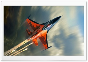 F-16 Fighter HD Wide Wallpaper for Widescreen