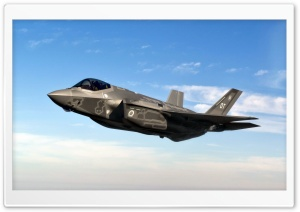 F-35 HD Wide Wallpaper for Widescreen