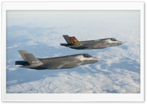 F-35 Lightning HD Wide Wallpaper for Widescreen