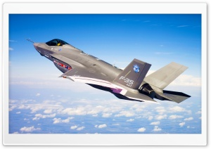 F-35 Lightning II Joint Strike HD Wide Wallpaper for 4K UHD Widescreen desktop & smartphone
