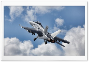 FA-18 Super Hornet HD Wide Wallpaper for Widescreen