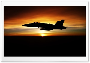FA 18C Hornet Aircraft HD Wide Wallpaper for Widescreen