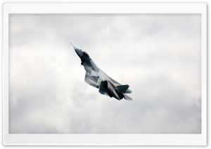 FA T-50 Russian Fighter HD Wide Wallpaper for Widescreen