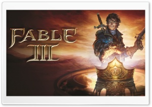 Fable 3 Artwork HD Wide Wallpaper for Widescreen
