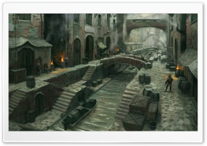 Fable 3 Concept Art HD Wide Wallpaper for Widescreen
