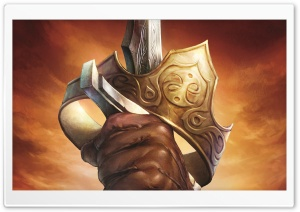 Fable 3 Sword Artwork HD Wide Wallpaper for Widescreen