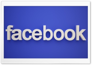 Facebook HD Wide Wallpaper for Widescreen