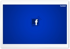 Facebook Blue HD Wide Wallpaper for Widescreen