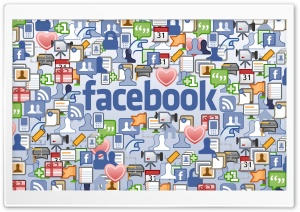 Facebook Social Network HD Wide Wallpaper for Widescreen