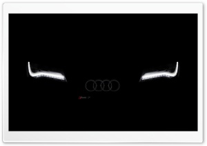 Faded AUDI HD Wide Wallpaper for Widescreen