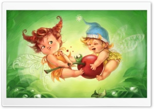 Fairy Children HD Wide Wallpaper for Widescreen