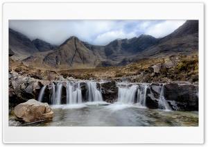 Fairy Pools Tourist attraction in Glenbrittle, Scotland Ultra HD Wallpaper for 4K UHD Widescreen desktop, tablet & smartphone