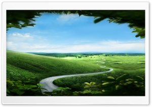 Fairy Tale Landscape HD Wide Wallpaper for Widescreen