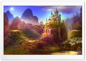 Fairytale Castle Ultra HD Wallpaper for 4K UHD Widescreen desktop, tablet & smartphone