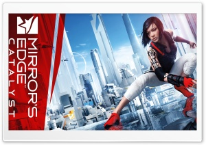 Faith - Mirrors Edge Catalyst 2016 Game HD Wide Wallpaper for Widescreen