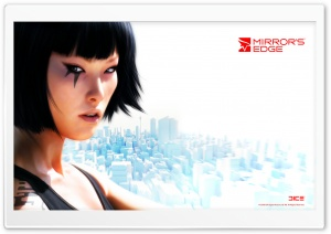 Faith Connors   Mirror's Edge Game HD Wide Wallpaper for Widescreen