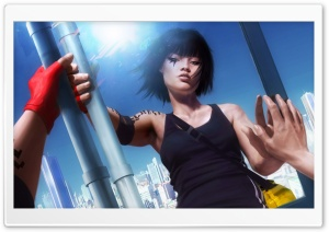 Faith Connors   Mirror's Edge Game 1 HD Wide Wallpaper for Widescreen