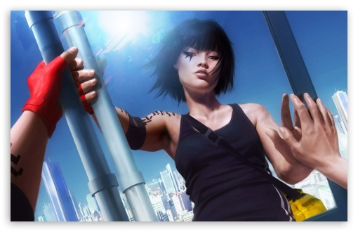 Faith Connors   Mirror's Edge Game 1 HD wallpaper for Wide 16:10 5:3 Widescreen WHXGA WQXGA WUXGA WXGA WGA ; HD 16:9 High Definition WQHD QWXGA 1080p 900p 720p QHD nHD ; Standard 3:2 Fullscreen DVGA HVGA HQVGA devices ( Apple PowerBook G4 iPhone 4 3G 3GS iPod Touch ) ; Mobile 5:3 3:2 16:9 - WGA DVGA HVGA HQVGA devices ( Apple PowerBook G4 iPhone 4 3G 3GS iPod Touch ) WQHD QWXGA 1080p 900p 720p QHD nHD ;