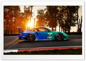 Falken Porsche RSR HD Wide Wallpaper for Widescreen