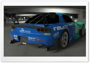 Falken RX7 Render HD Wide Wallpaper for Widescreen