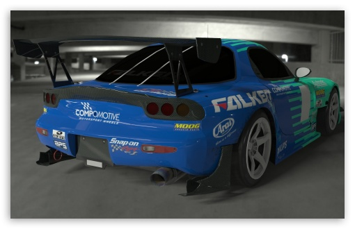Falken RX7 Render HD wallpaper for Wide 16:10 5:3 Widescreen WHXGA WQXGA WUXGA WXGA WGA ; HD 16:9 High Definition WQHD QWXGA 1080p 900p 720p QHD nHD ; Mobile 5:3 16:9 - WGA WQHD QWXGA 1080p 900p 720p QHD nHD ;