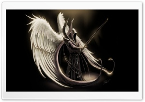 Fallen Angel Art HD Wide Wallpaper for 4K UHD Widescreen desktop & smartphone