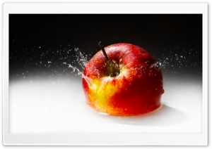 Fallen Apple HD Wide Wallpaper for Widescreen