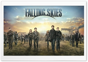 Falling Skies TV Series Cast HD Wide Wallpaper for 4K UHD Widescreen desktop & smartphone
