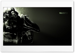 Fallout 3 HD Wide Wallpaper for 4K UHD Widescreen desktop & smartphone
