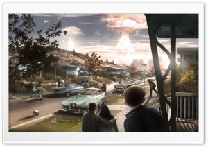 Fallout 4 2015 Video Game HD Wide Wallpaper for Widescreen
