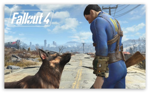 Fallout 4 Dogmeat ❤ 4K UHD Wallpaper for Wide 5:3 Widescreen WGA ; 4K UHD 16:9 Ultra High Definition 2160p 1440p 1080p 900p 720p ; Mobile 5:3 16:9 - WGA 2160p 1440p 1080p 900p 720p ;