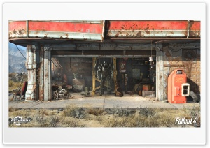 Fallout 4 HD Ultra HD Wallpaper for 4K UHD Widescreen desktop, tablet & smartphone