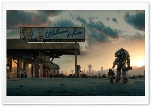 Fallout 4 Trailer HD Wide Wallpaper for 4K UHD Widescreen desktop & smartphone