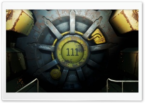 Fallout 4 Vault HD Wide Wallpaper for Widescreen