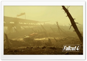 Fallout 4 Wasteland HD Wide Wallpaper for Widescreen