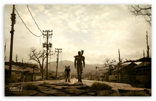 Fallout 3 HD wallpaper for Wide 16:10 5:3 Widescreen WHXGA WQXGA WUXGA WXGA WGA ; HD 16:9 High Definition WQHD QWXGA 1080p 900p 720p QHD nHD ; Standard 5:4 3:2 Fullscreen QSXGA SXGA DVGA HVGA HQVGA devices ( Apple PowerBook G4 iPhone 4 3G 3GS iPod Touch ) ; Mobile 5:3 3:2 16:9 5:4 - WGA DVGA HVGA HQVGA devices ( Apple PowerBook G4 iPhone 4 3G 3GS iPod Touch ) WQHD QWXGA 1080p 900p 720p QHD nHD QSXGA SXGA ; Dual 4:3 5:4 UXGA XGA SVGA QSXGA SXGA ;