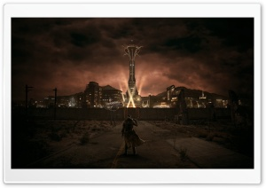 Fallout New Vegas HD Wide Wallpaper for 4K UHD Widescreen desktop & smartphone
