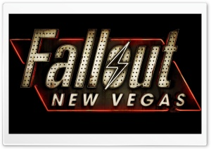 Fallout New Vegas Logo HD Wide Wallpaper for Widescreen